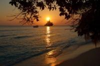 Sonnenuntergang - Insel Bandos