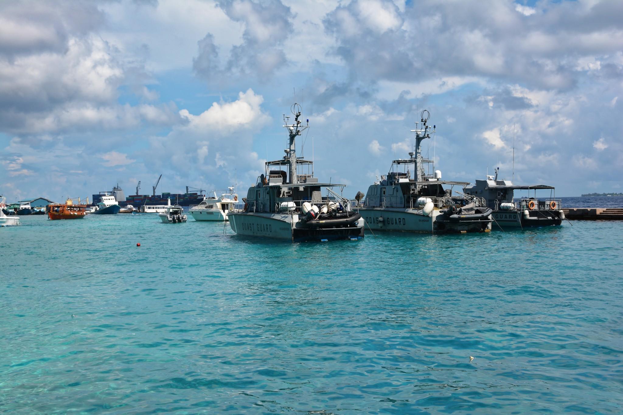 Hafen - Insel Male