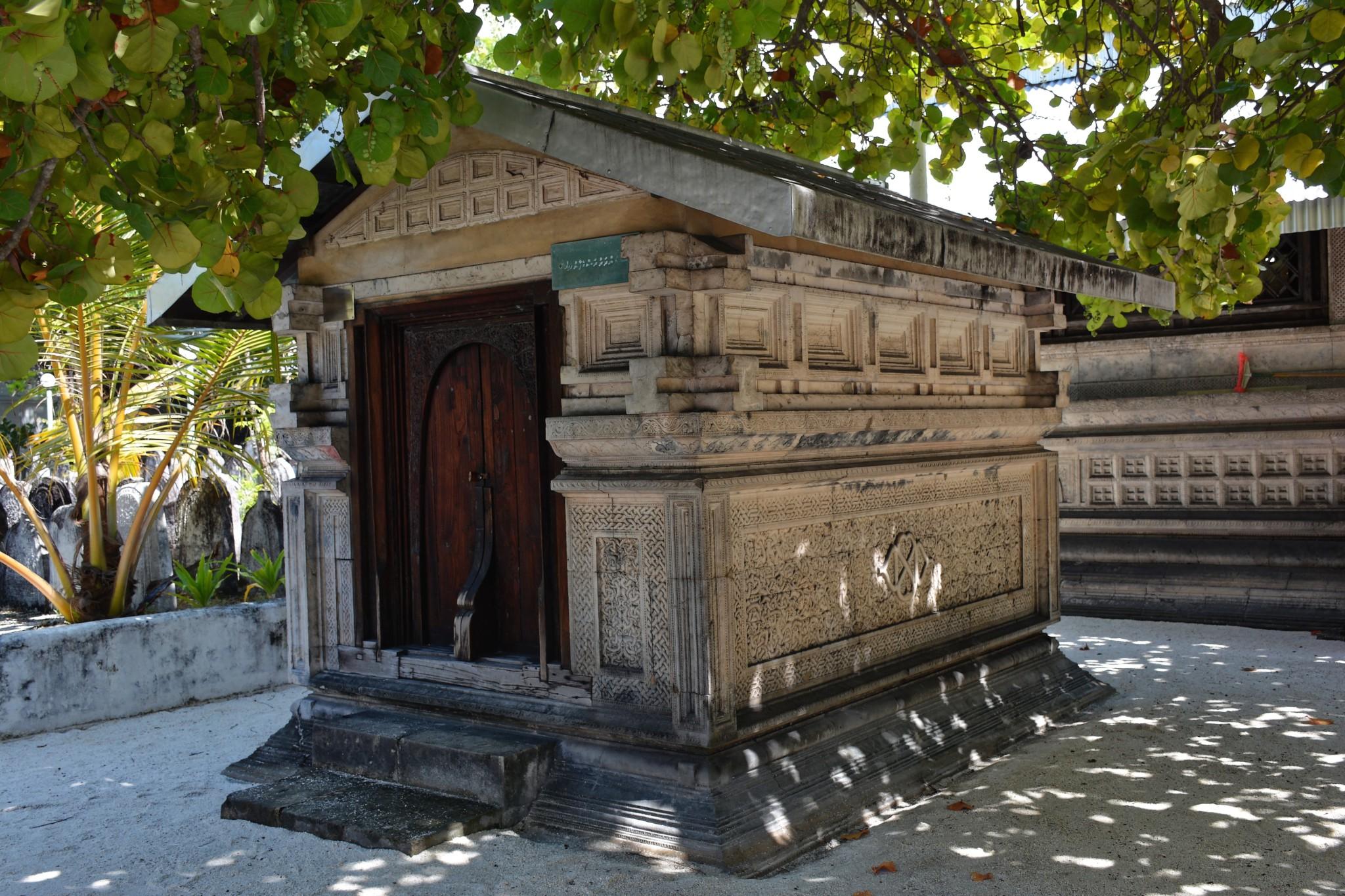 Grab von Mohammed Thakurufaanu - Insel Male