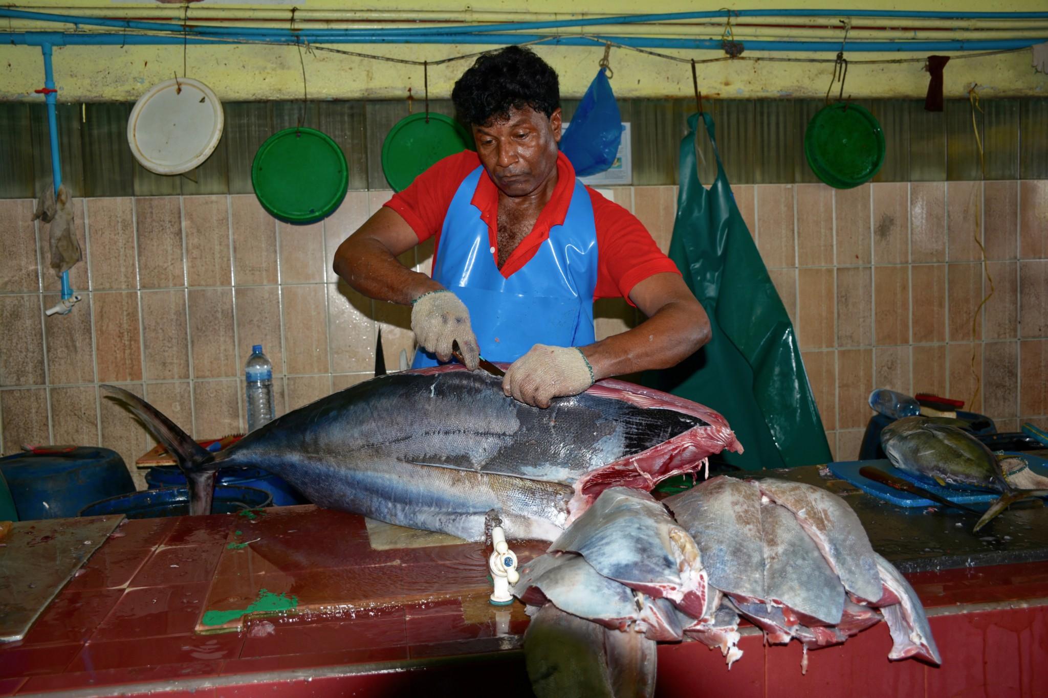 Fischmarkt - Insel Male