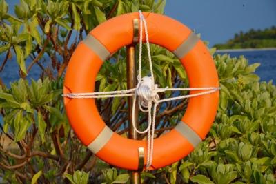 Rettungsring - Insel Bandos