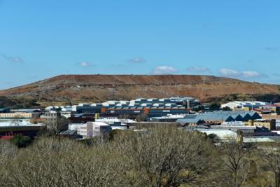 Johannesburg - Goldminen Abraumhalde