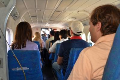 Flug von Mahe nach Praslin