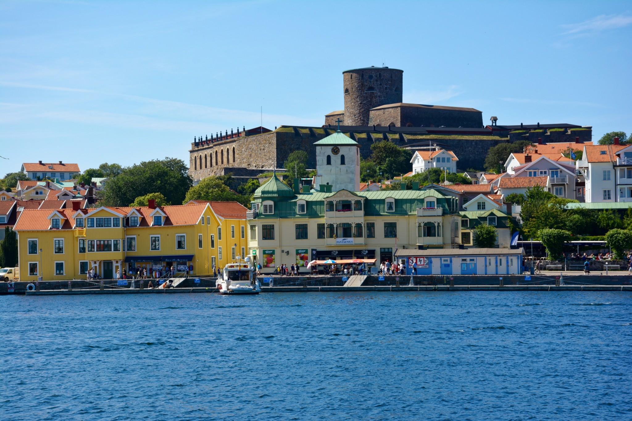 Blick zur Festung Carlsten - Marstrand