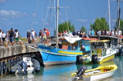 Hafen - La Passe - La Digue