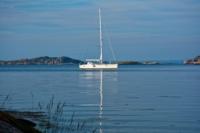 Segelboot vor der Insel Koö - Marstrand
