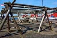 Gestell für Stockfisch - Mollösund