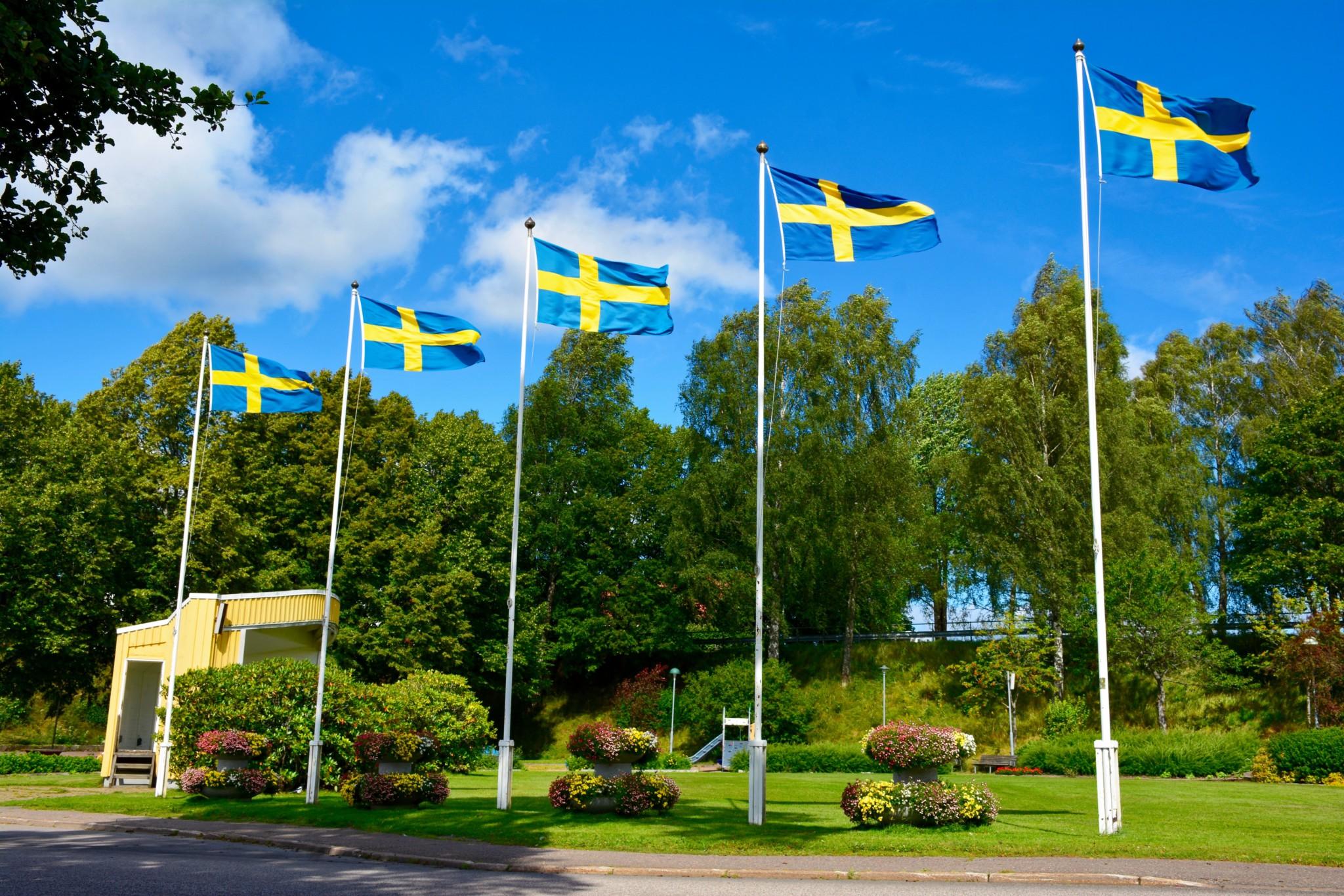 Schwedische Flaggen - Ed