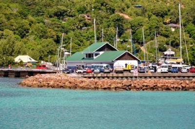 Baie St. Anne - Hafen