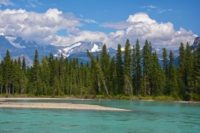 Fraser River mit Mount Robson