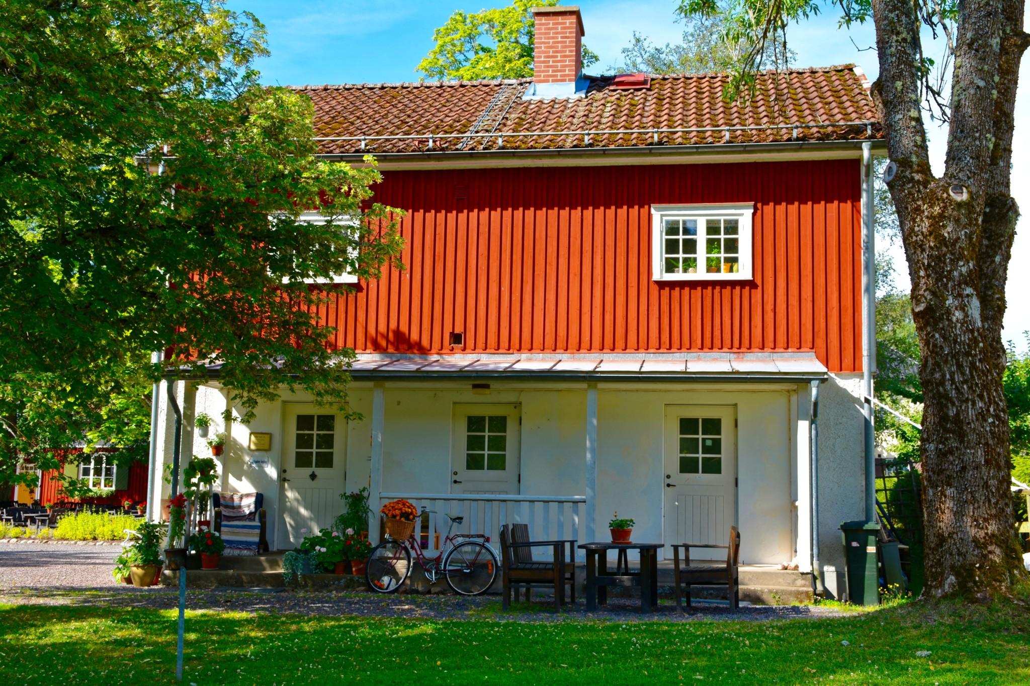 Schwedisches Holzhaus im Grünen - Marbacka