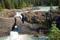 Natural Bridge - Yoho Nationalpark