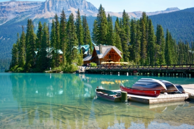 Emerald Lake - Yoho Nationalpark