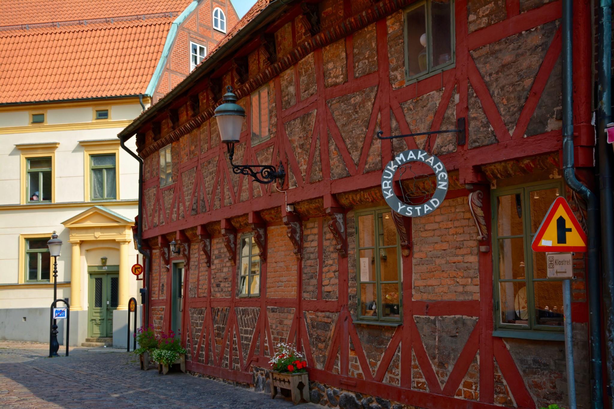 Fachwerkhaus in Ystad