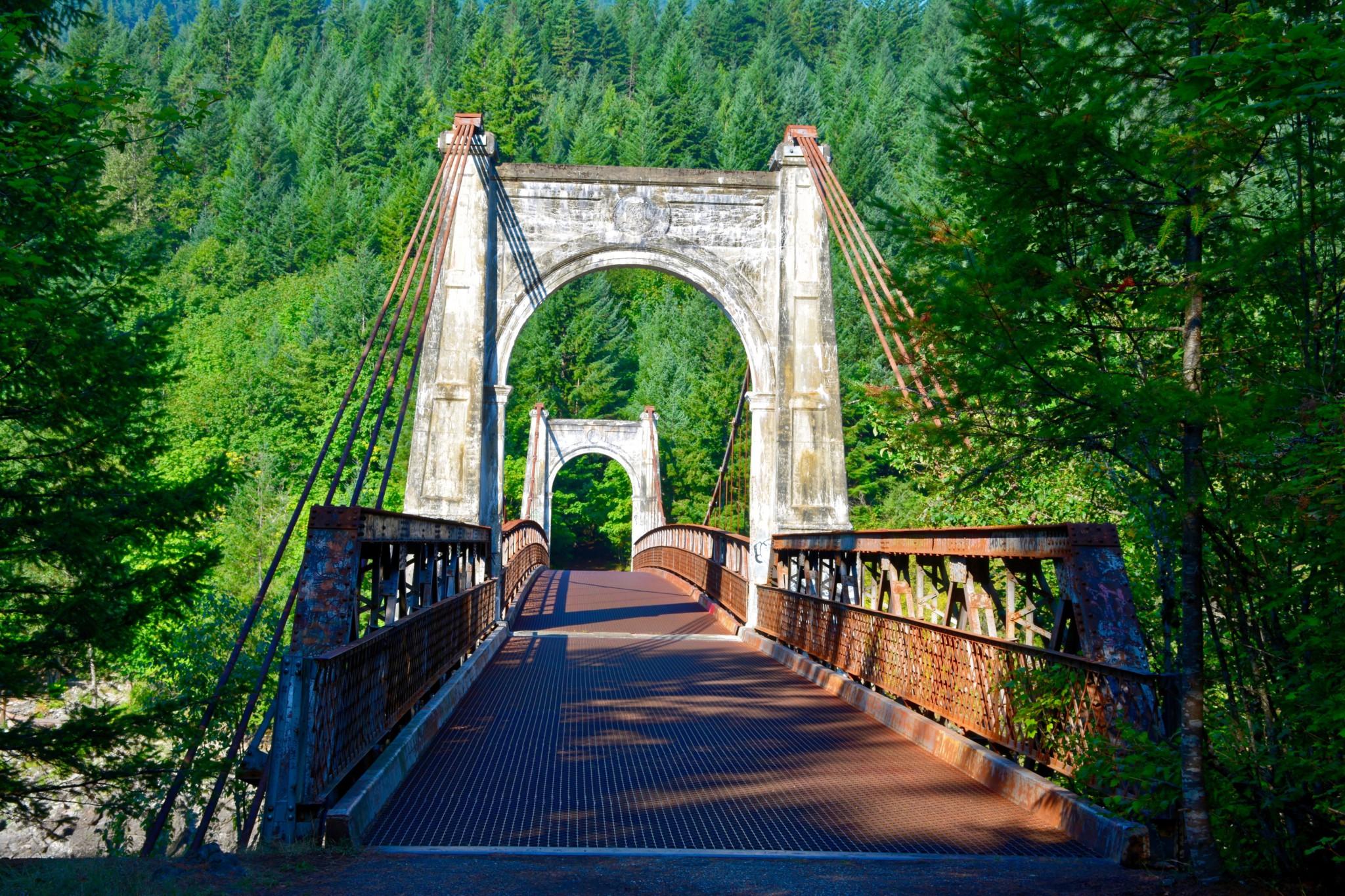 Alexandra Bridge - Fraser River