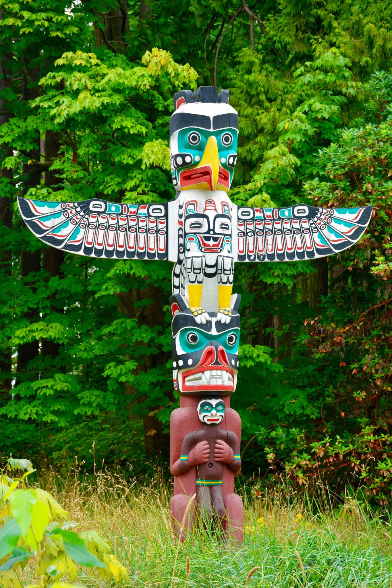 Totem Poles - Stanley Park - Vancouver