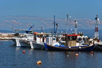 Skala Rachoniou - Hafen