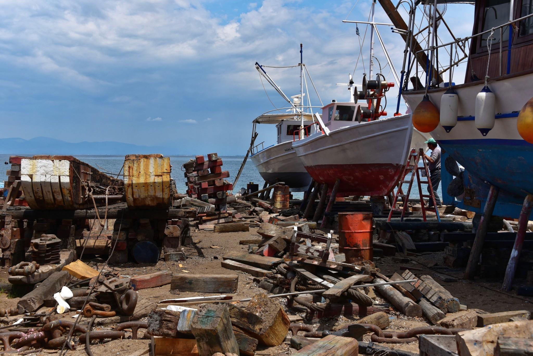 Skala Prinou - Werft