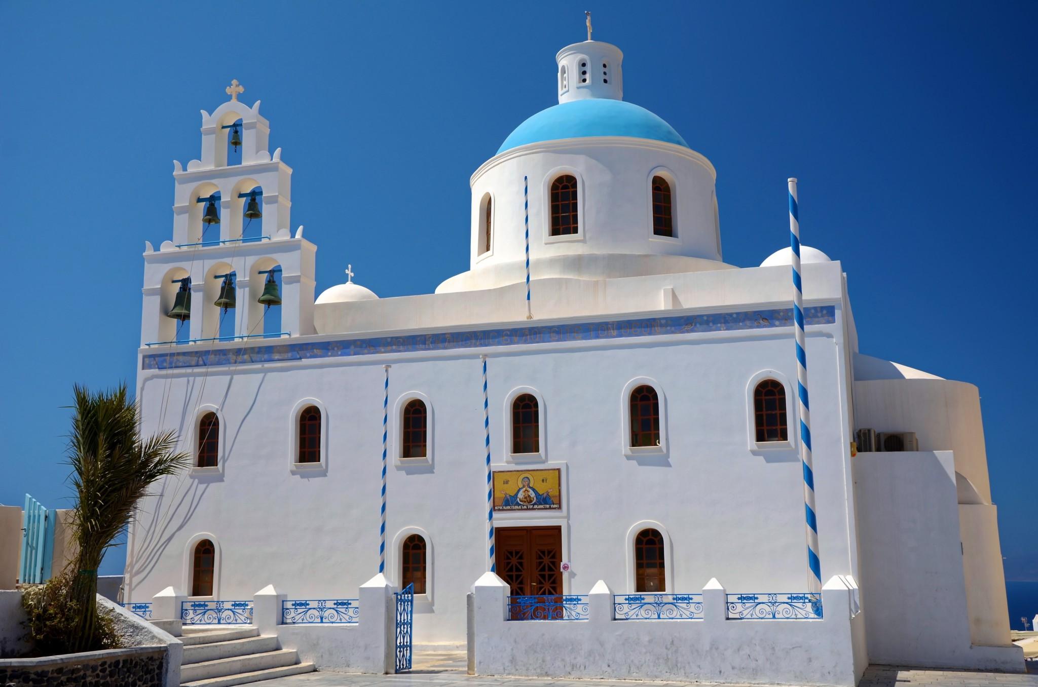 Kirche - Oia - Santorin