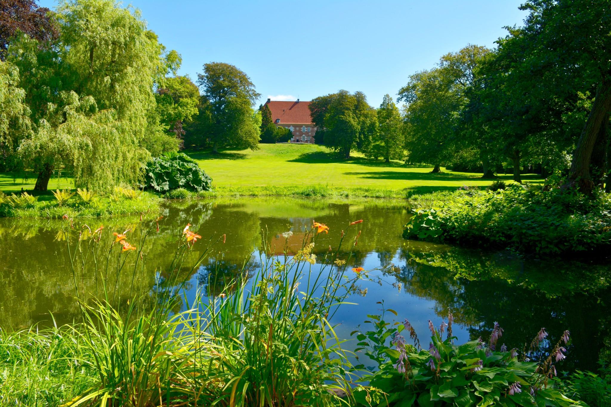 Park vom Schloss Krapperup