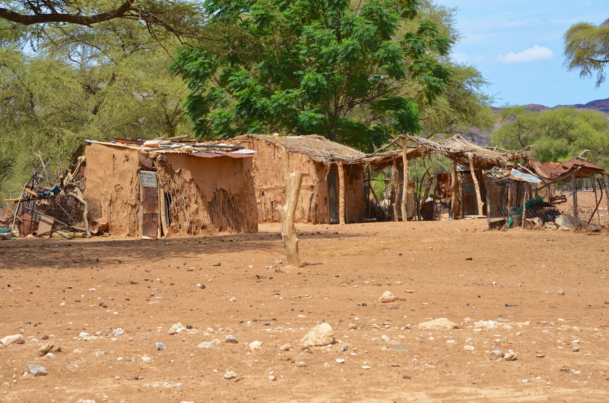 Fahrt von der Palmwag Lodge nach Fort Sesfontein (C43)