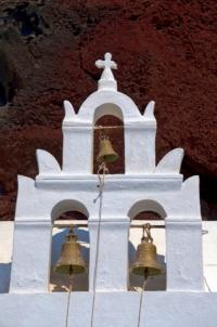 Kapelle am Red Beach - Akrotiri - Santorin