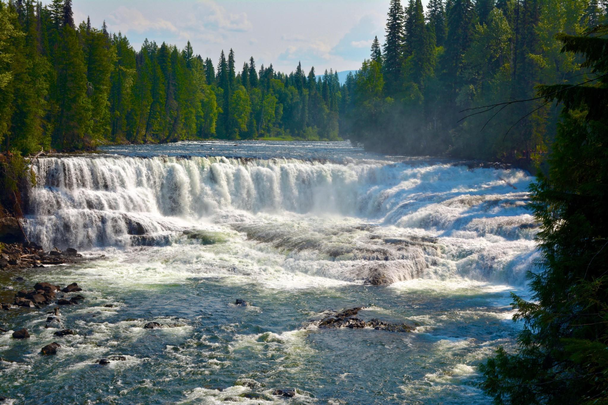 Dawson Falls - Wells Gray NP