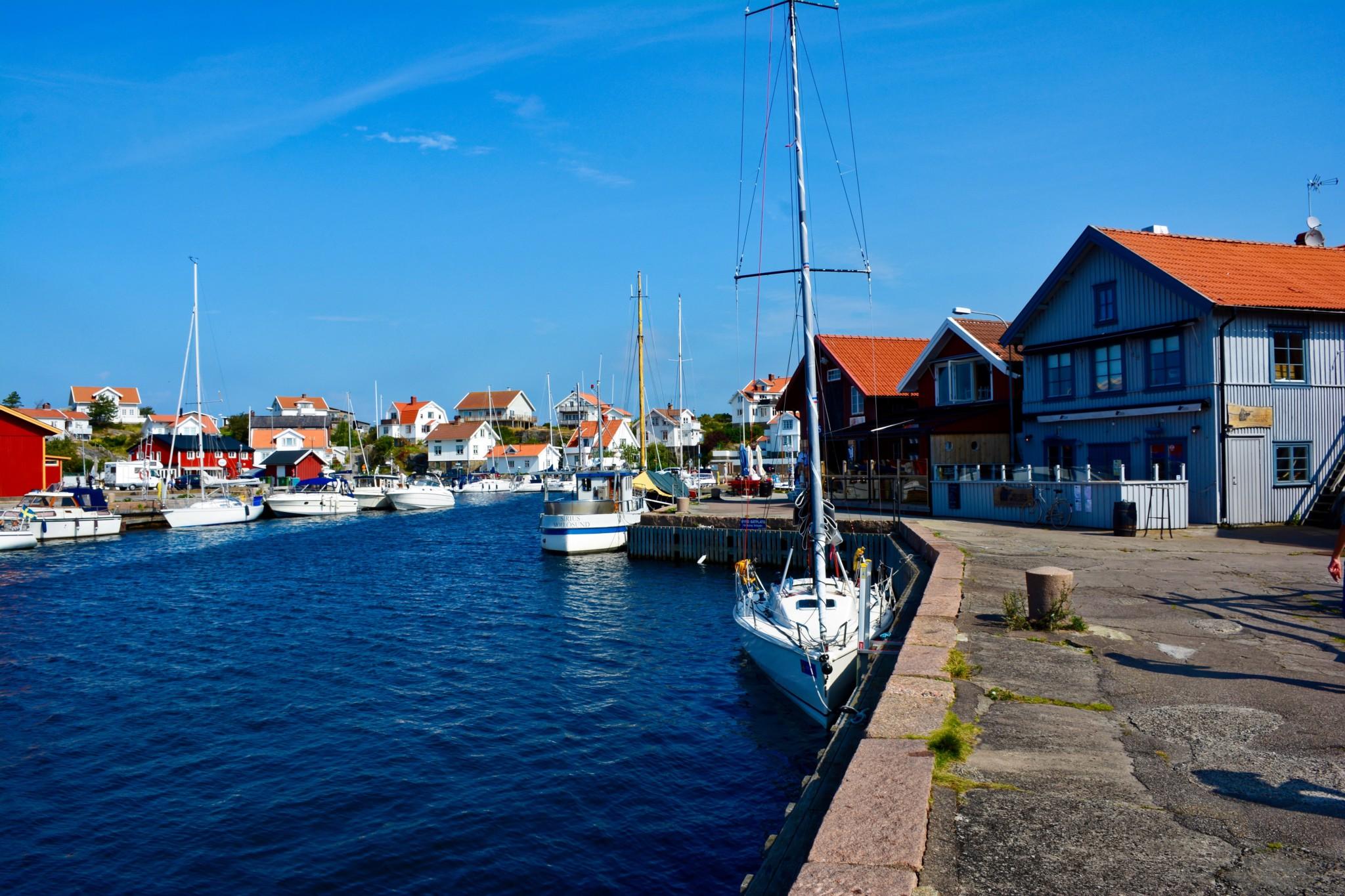 Hafen in Mollösund