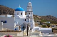 Kirche - Pirgos - Santorin