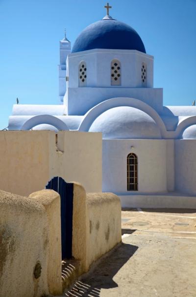 Kapelle - Pirgos - Santorin