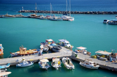 Hafen - Vilchada - Santorin