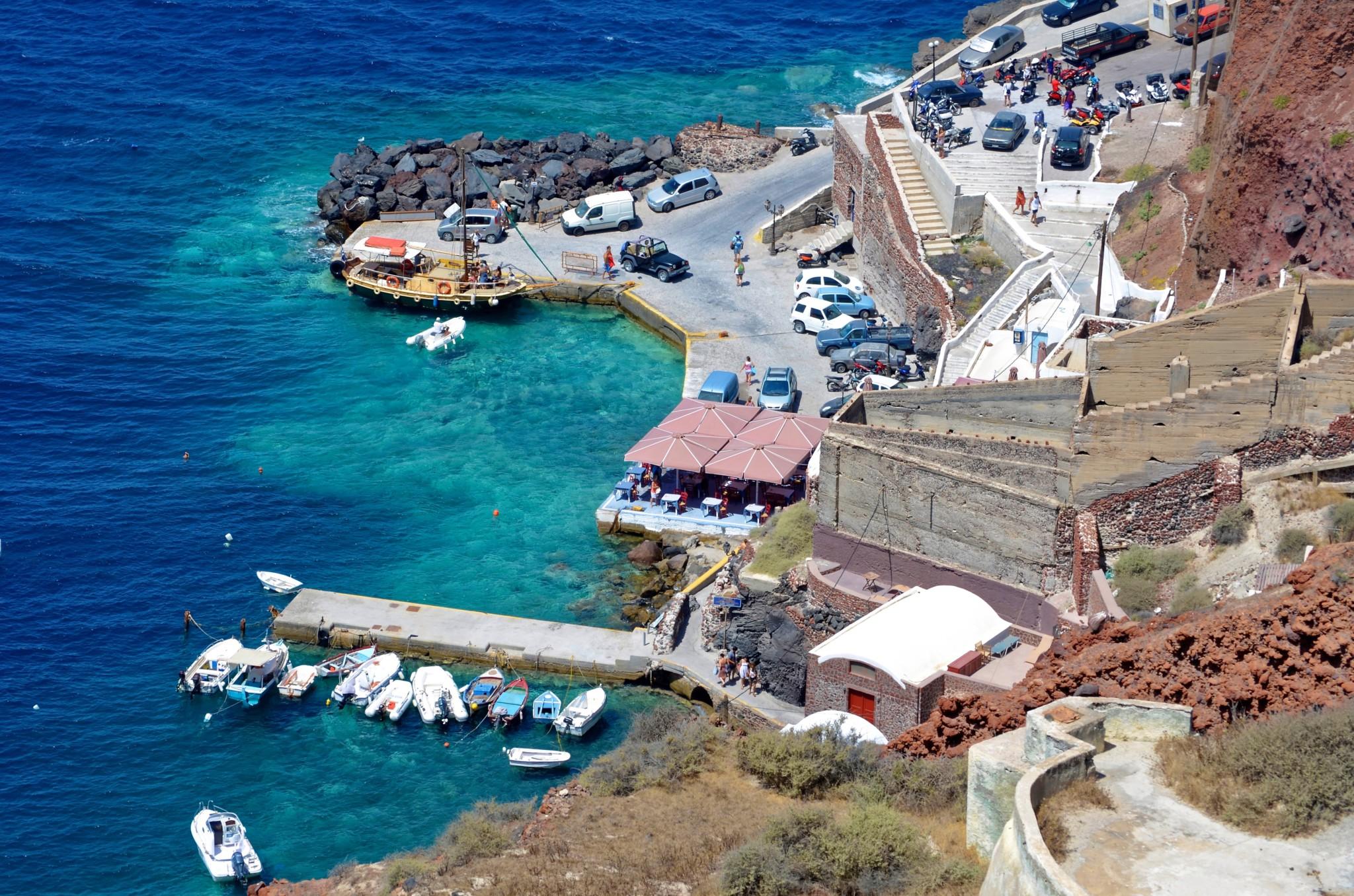 Hafen - Santorin