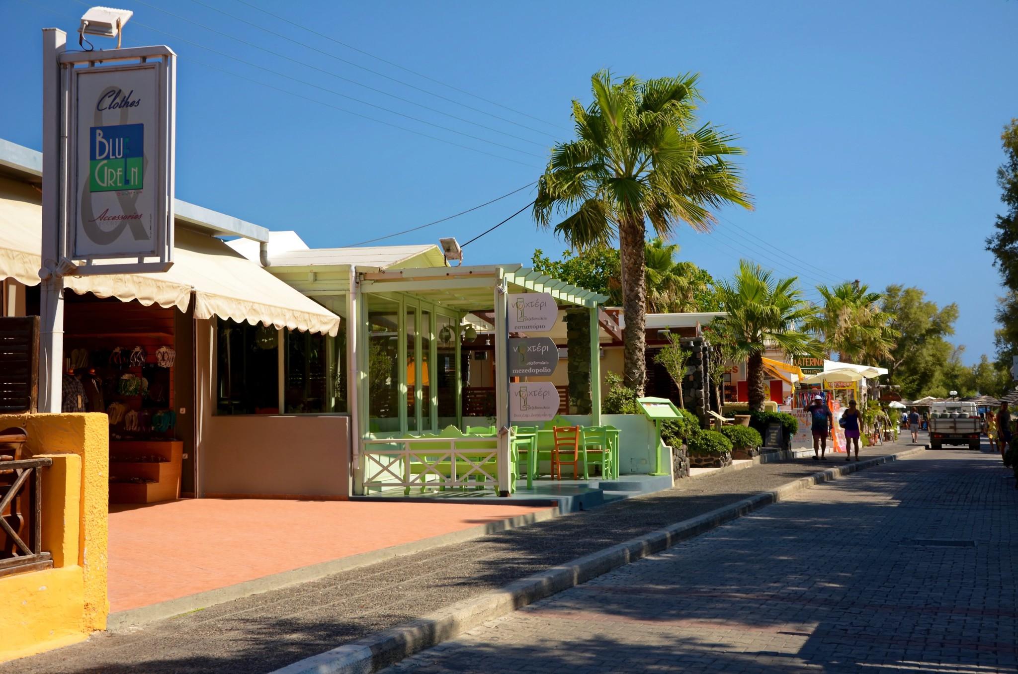 Kamari - Santorin