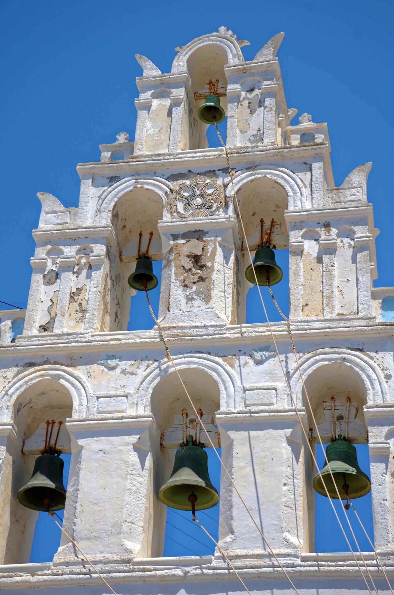 Glockenturm - Megalochori - Santorin