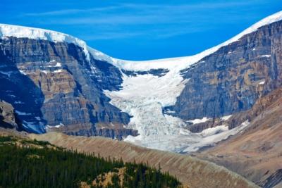 Columbia Icefield, Alberta, Kanada