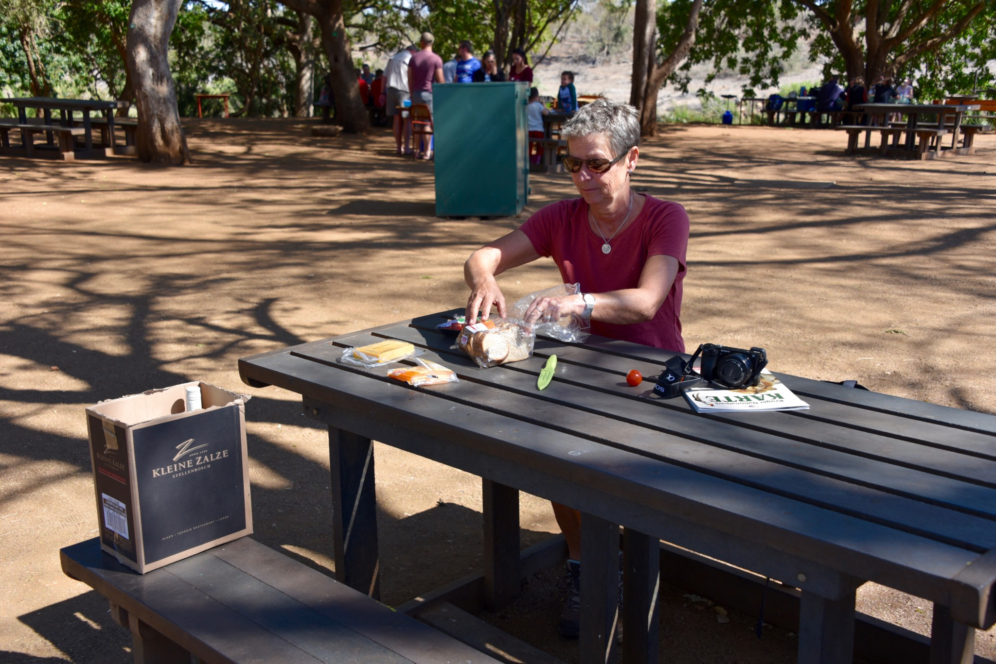Kruger Nat. Park - Picknickplatz