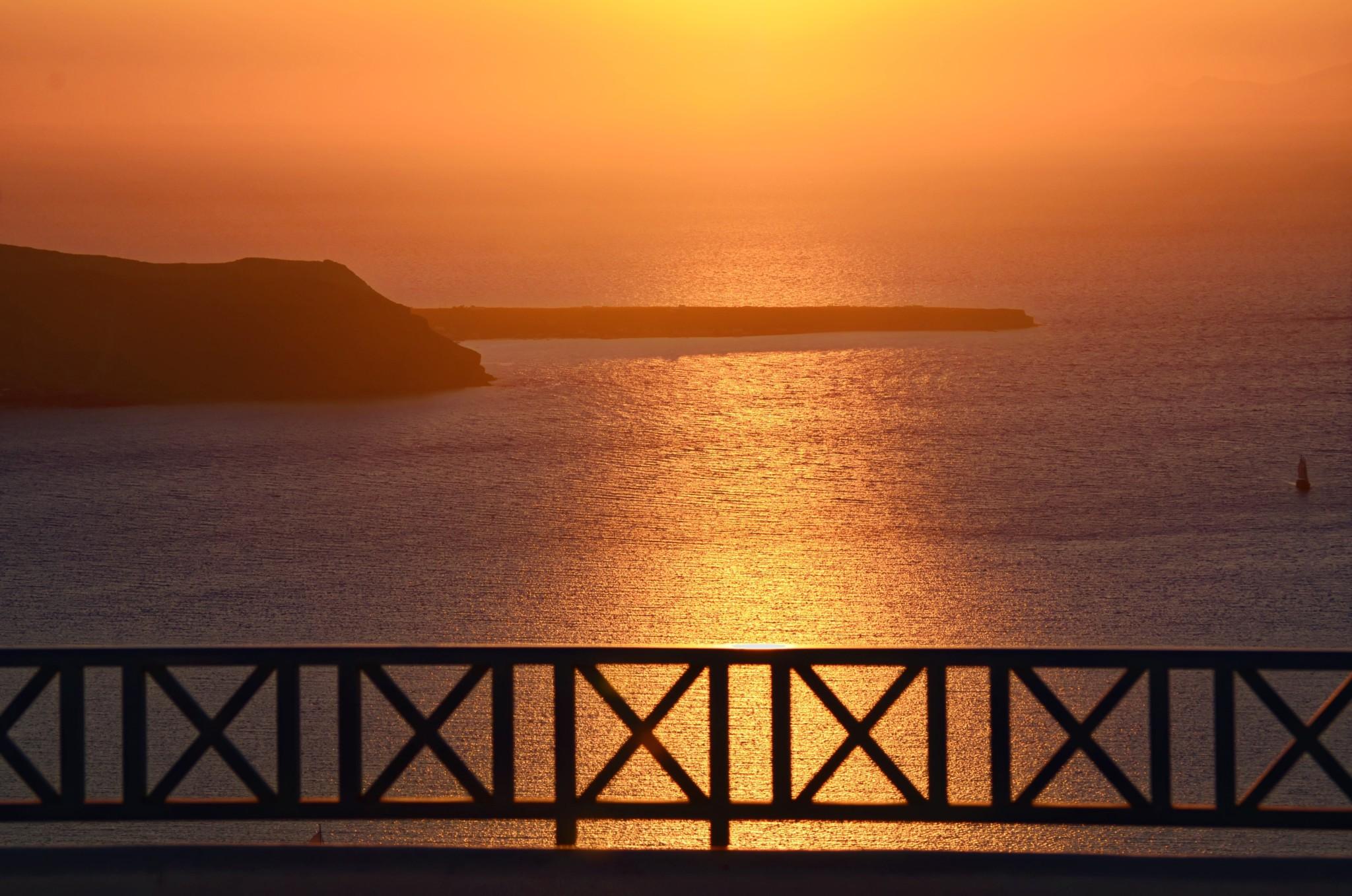 Sonnenuntergang - Santorin
