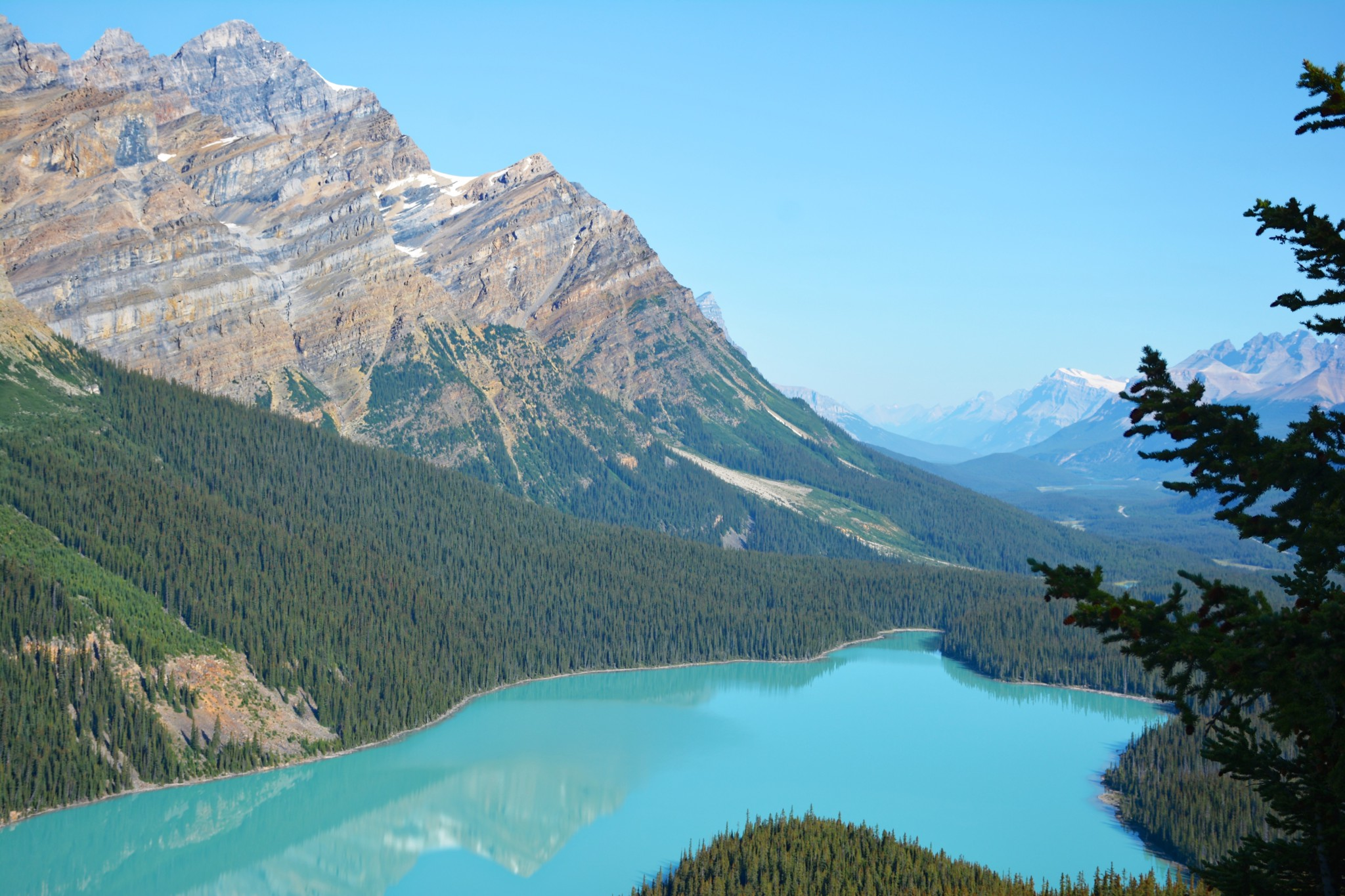 Peyto Lake - Bow Summit - Banff NP