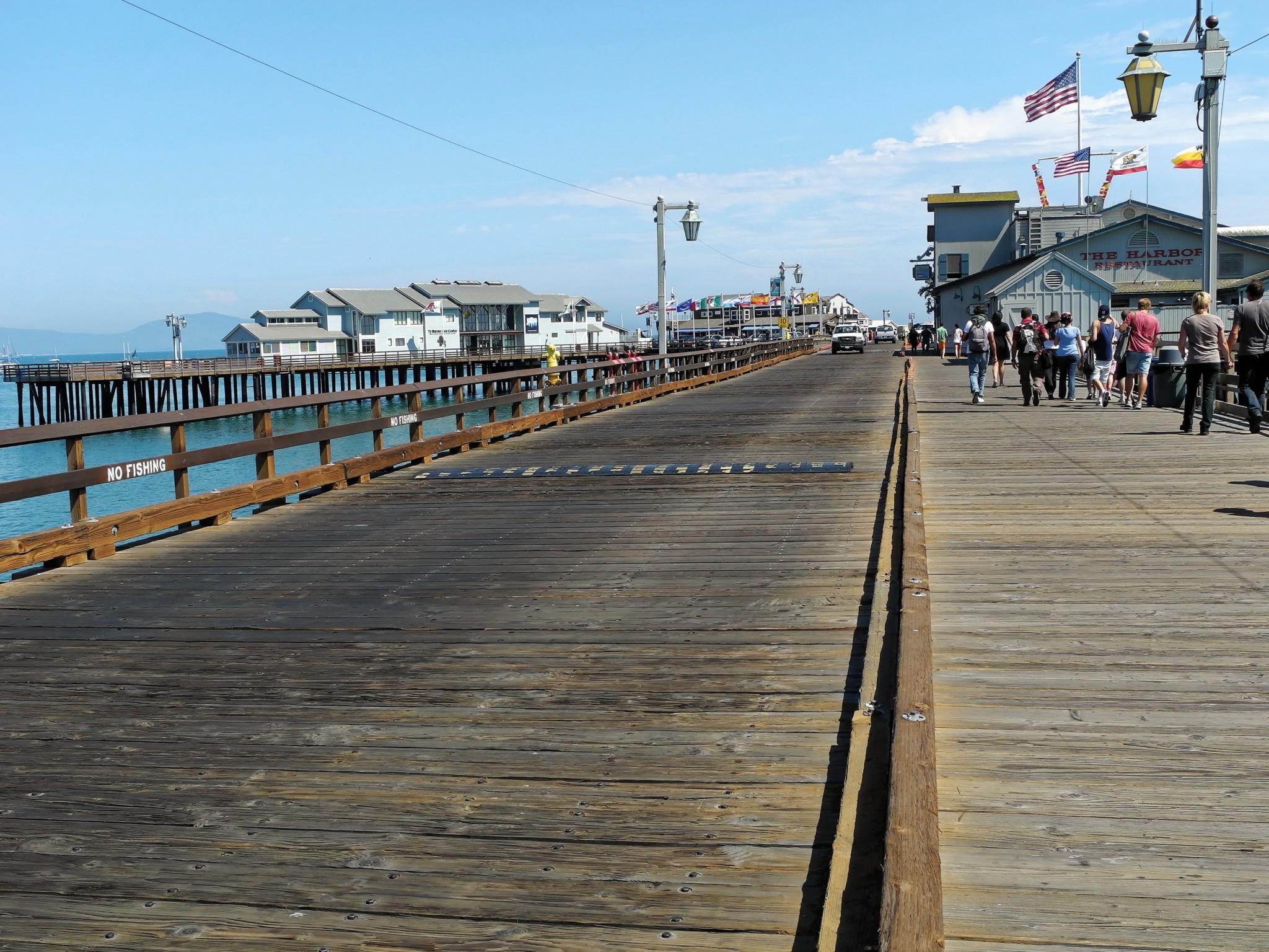 Stearns Wharf Pier - Santa Barbara