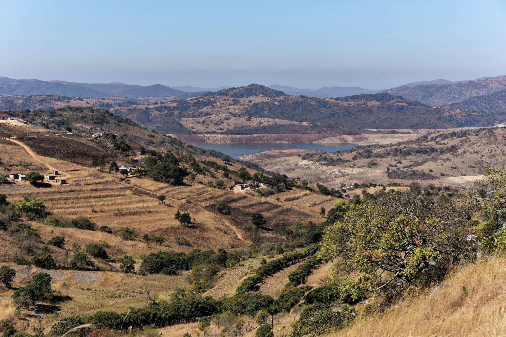 Landschaft im Königreich Swaziland