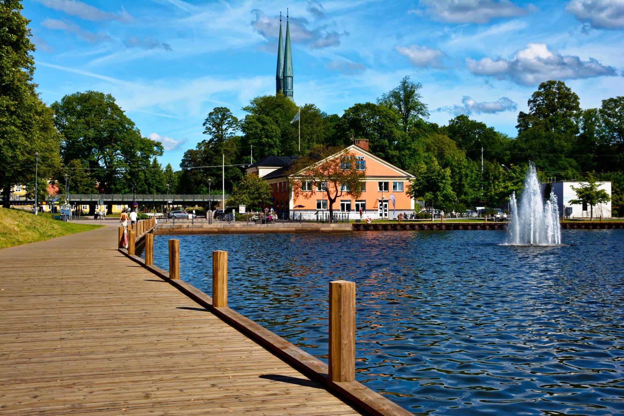 Linne Park in Växjö