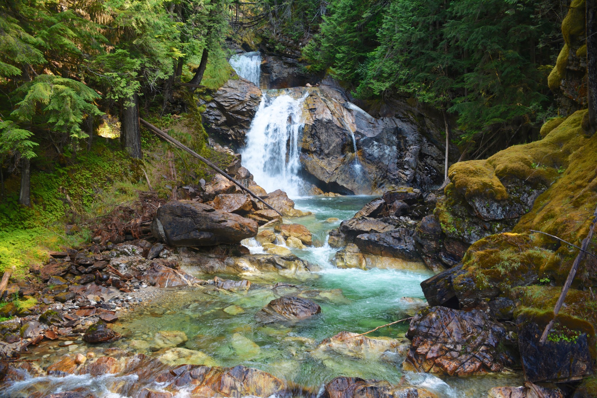 Cracy Creek Falls - Revelstoke