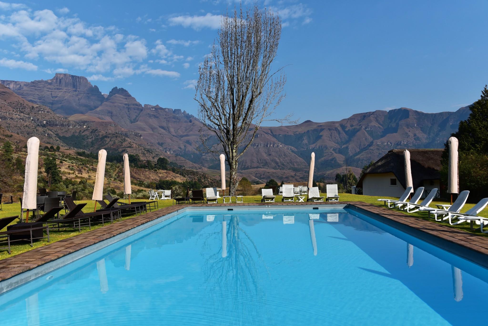 Drakensberge - Champagne Castle Hotel