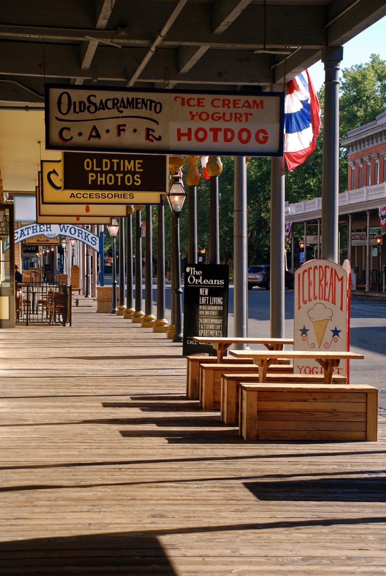Old Sacramento - Kalifornien