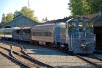 Eisenbahn - Old Sacramento - Kalifornien