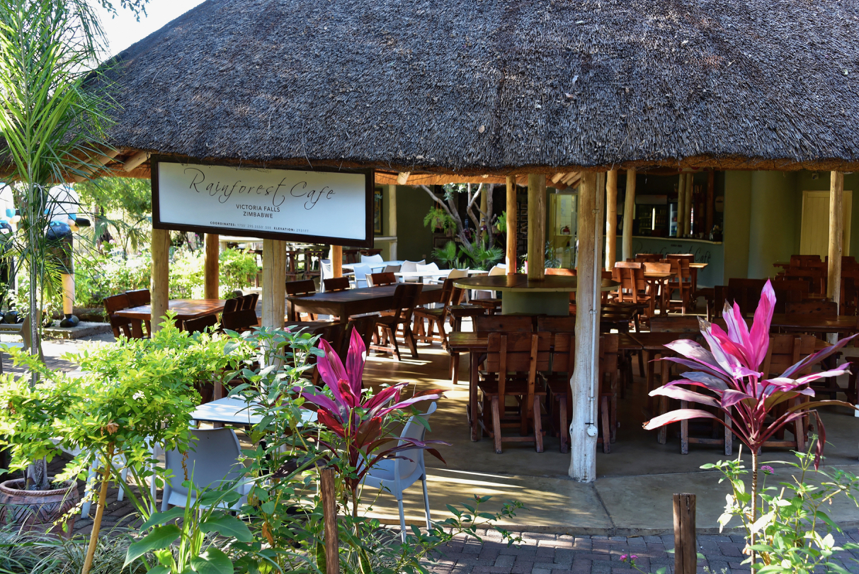 Restaurant im Victoria Falls National Park