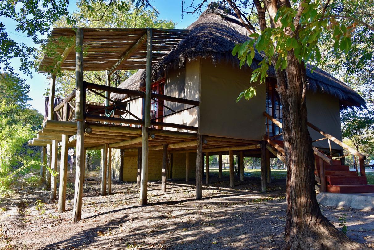 Zeltunterkunft im CAMP KWANDO