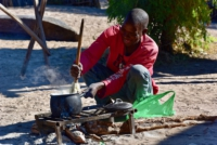 Traditional Village - CAMP KWANDO - Namibia