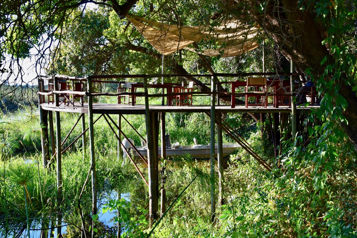 Terrasse im CAMP KWANDO