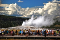 Old Faithful - Yellowstone NP - Wyoming